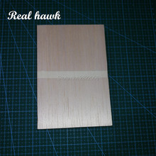 AAA+ Balsa Wood Sheets 150x100x10mm Model for DIY RC model wooden plane boat material