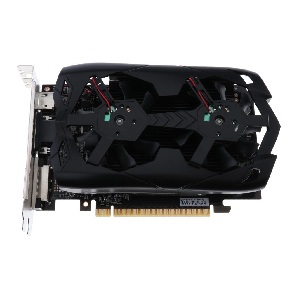 GT1030 2G Desktop Computer Gaming Video Graphics External Card DDR5 128Bit traveller series nvidia gtx750 4g ddr5 gaming video card gtx750 gaming graphics card for desktop directx12 3 years warranty