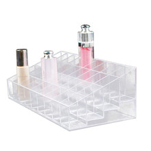 1 pc 40 Spaces Multifunction Lipstick Makeup Lip Gloss Organizer Display Stand Holder for Women Girls Home(China)