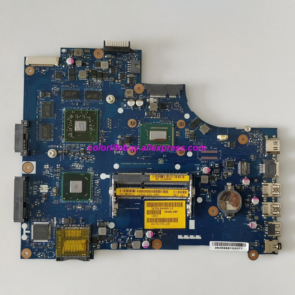 Genuine CN 0K9PG1 0K9PG1 K9PG1 VAW01 LA 9101P w SR0XF I3 3227U Laptop Motherboard for Dell Inspiron 15R 3521 5521 Notebook PC