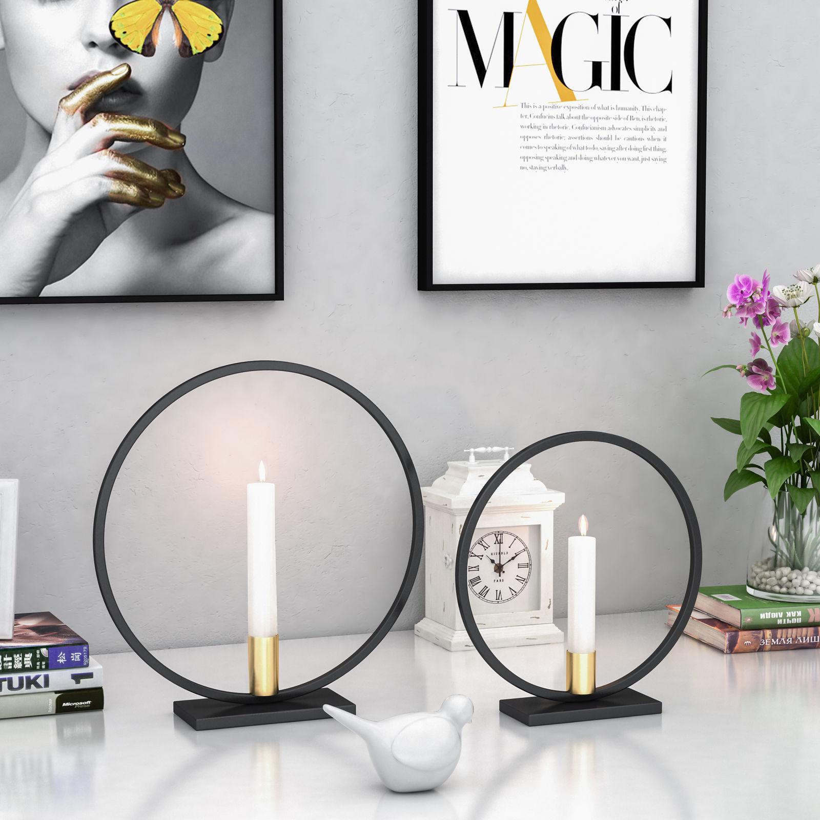 2019 Neueste Heiße 3d Geometrische Tee Licht Wand Montiert Kerzenhalter Wohnkultur Metall Leuchter