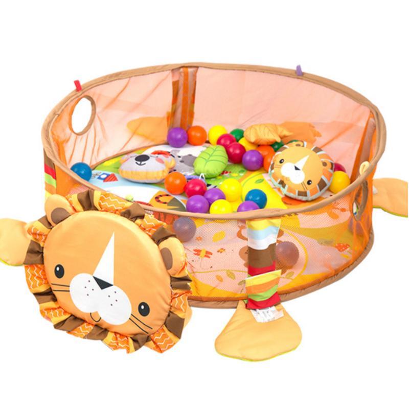 3 en 1 bébé tapis de jeu enfants tapis éducatif Puzzle tapis avec clavier de Piano mignon Animal tapis de jeu bébé Gym ramper tapis d'activité - 2