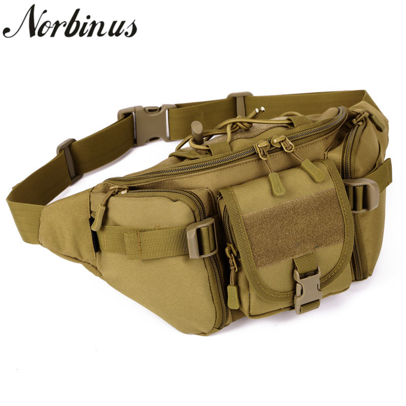 M-CORNER Oxford Camouflage Men Women hip bag purse belt bag for cycling mobile phone colour 1