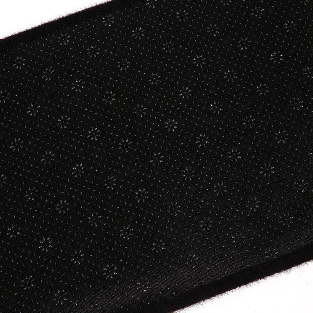 Vehemo войлочная ткань силиконовая Нескользящая крышка приборной панели коврик тире части Черные автомобильные аксессуары оттенки Солнцезащитная Накладка для машины коврик