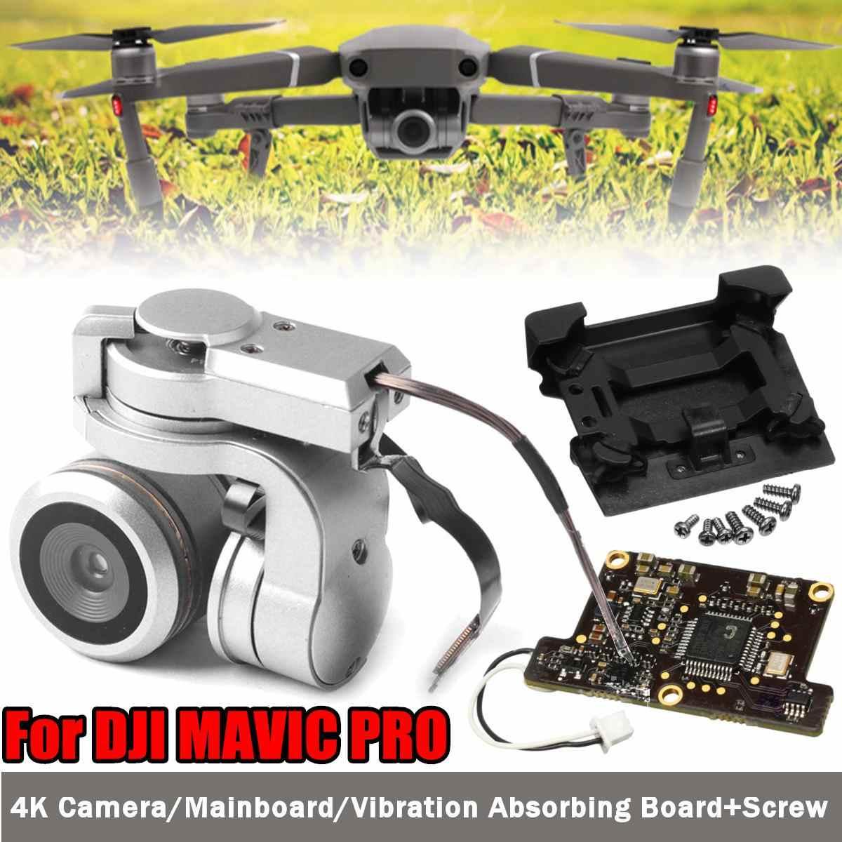 Para DJI Mavic Pro cardán Original Cámara FPV HD Video Drone RC Drone cámara de reparación de repuesto reemplazo de parte de Shock Absorber junta