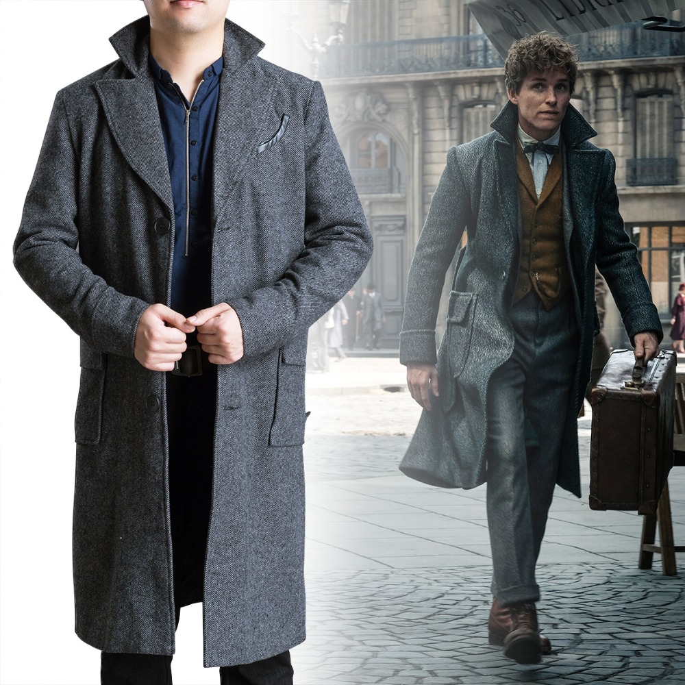 Harri Potter Fantastic Beasts Cosplay and Where to Find Them 2 Costume Newt Scamander Bulma Carnival Adult Costumes Halloween