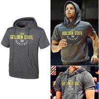 USA Basketball sports Hoodies printing jersey Curry/James/Paul training suit suprem fortnit Hooded short sleeved Sweatshirt