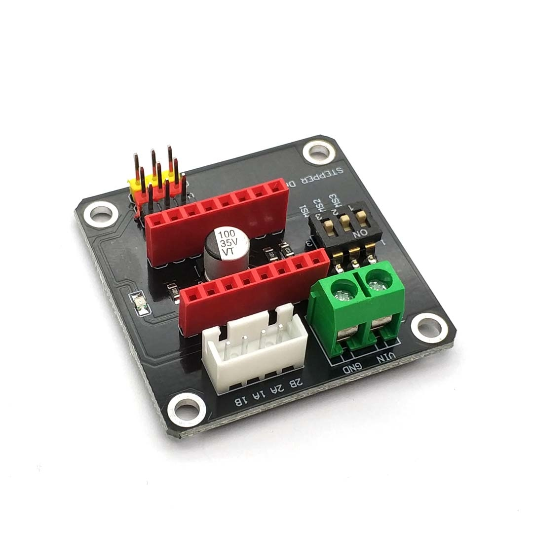 42 Stepper Motor Driver Expansion Board DRV8825 A4988 3D Printer Control Shield Module For Arduino UNO R3 Ramps1.4 DIY Kit One