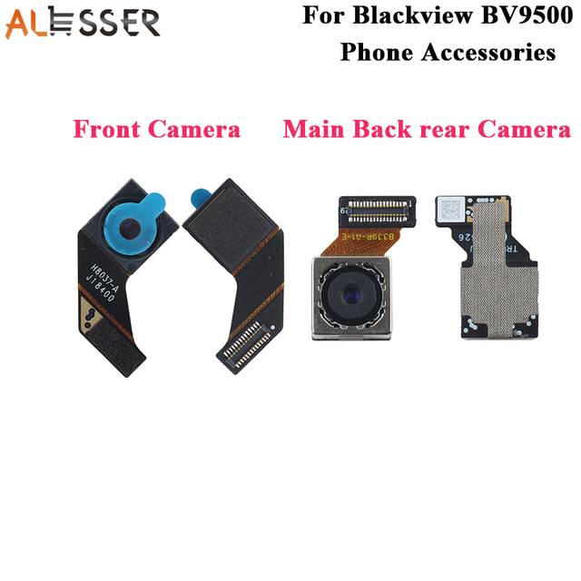 Alesser для Blackview BV9500, Передняя камера, основная задняя камера в сборе, фотоаксессуары для телефона Blackview BV9500