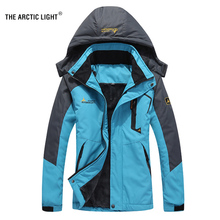 THE ARCTIC LIGHT Ski Jacket Women Waterproof Fleece Snow Thermal Coat For Outdoor Mountain Skiing Snowboard Jacket Plus Size недорого