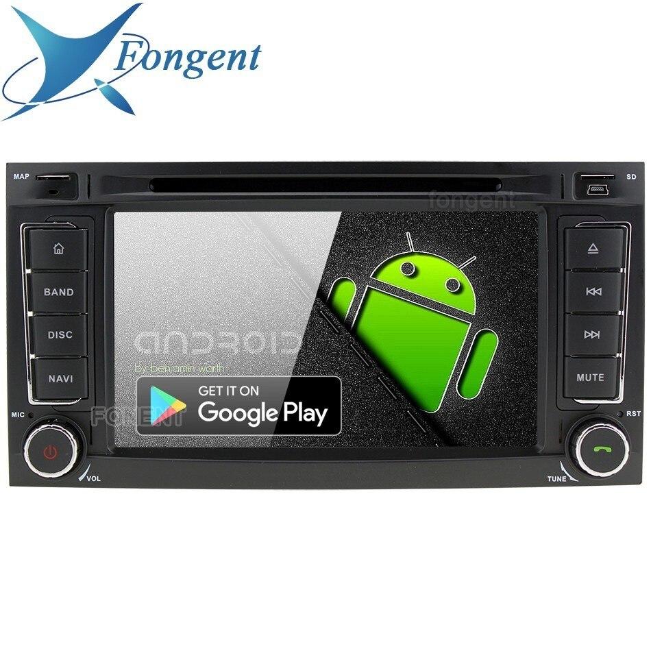 Android 9.0 Multimídia de Áudio Estéreo DVD Player para VW Volkswagen Touareg Multivan Transporter Car GPS Navi Radio PX6 RK3399 T5