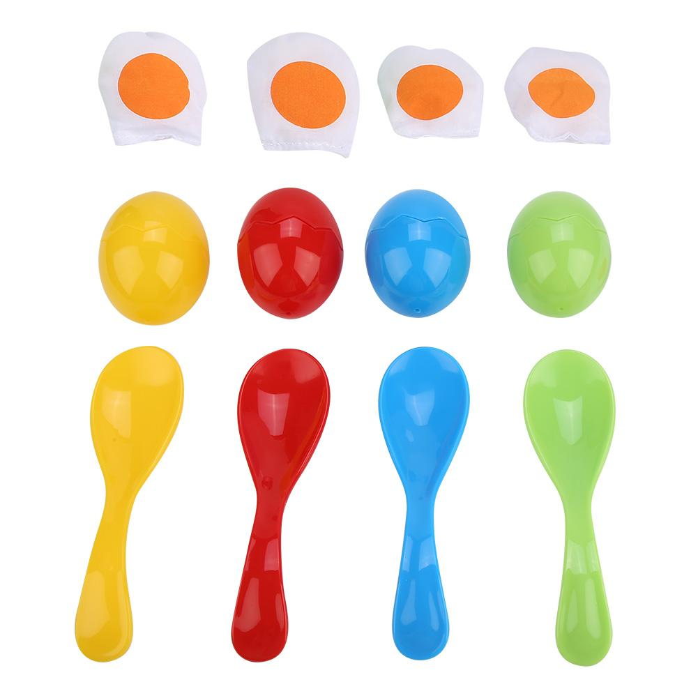 Balance Spoon Egg Running Children Sports Educational Game Outdoor Toy Children's Sports Educational Games Toys For Kids Parties