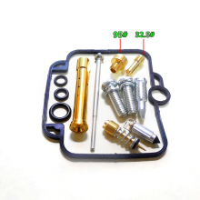 Carburetor repair kit Configuration Jet needle (J.N.) and Needle jet (N.J.) For Bandit 400 (GSF400) GK75A Mikuni