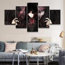 Wall Art Modular Pictures Home Decorative Framework HD Printed Abstract Poster 5 Pieces Anime Unknown Role Canvas Painting high quality canvas print poster framework painting wall art home decorative 5 pieces anime unknown landscape modular pictures