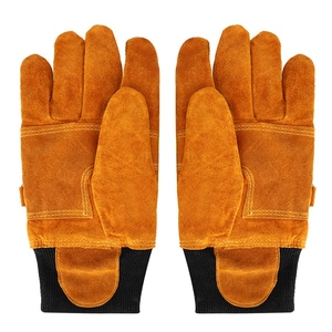Image 5 - Working Gloves Welding Gloves Anti steam Safety Gloves Pair of Cow Leather Gloves Fireproof Heat Resistant Safety Working Gloves