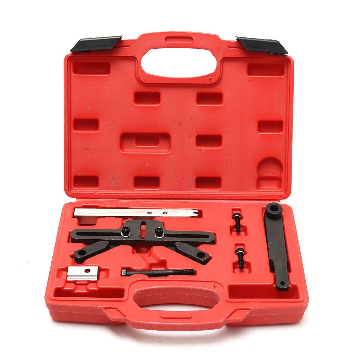 Kit d'outils de blocage de distribution de volant d'inertie pour BMW Mini M47T2 M57T2 M67 N43 N45 moteurs outils professionnels boîtier en plastique 29.5x22x6 cm