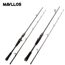 Mavllos 1.8M M Pole Carbon Spinning Rod Lure Weight 7-25g Action Fast 5-15lb Ultralight Carp Saltwater Fishing Rod