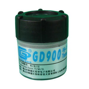 Grease-Paste GD900 Heatsink Compound Gray 2pieces-Net 30-Grams Weight Conductive Silicone