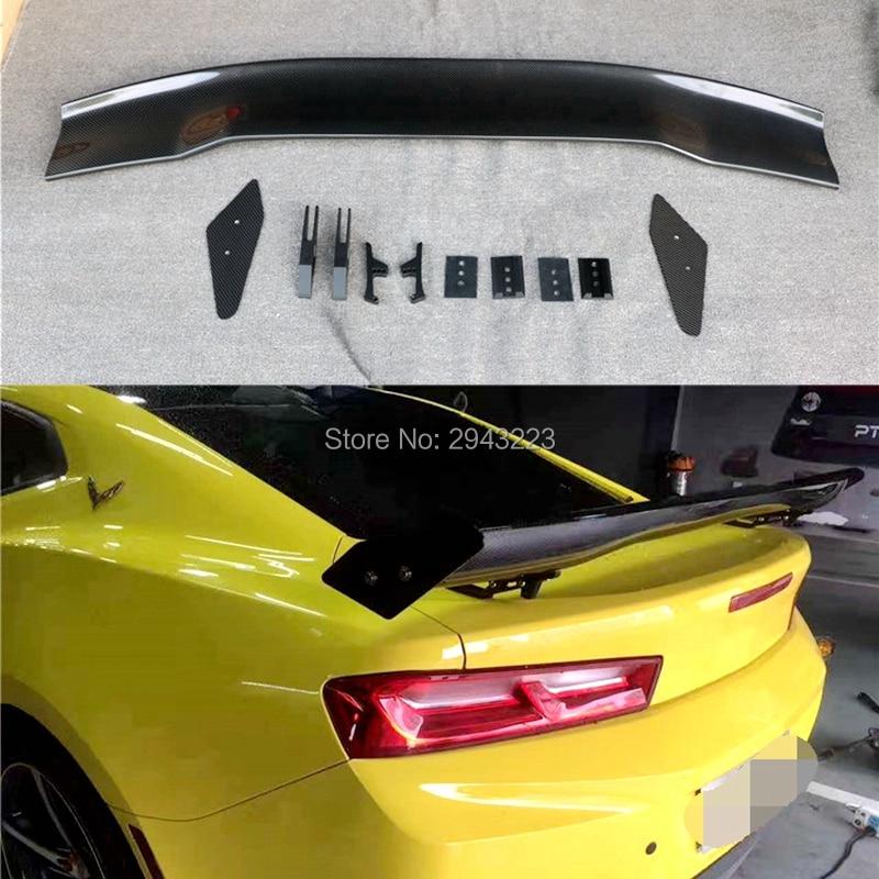 Auto Accessoires Hoge Kwaliteit Carbon Fiber Kofferbak Lip Spoiler Wing Decoratie Fit Voor Chevrolet Camaro 2016 2017 2018 Een Verrijkt En Voedingsstof Voor De Lever En De Nieren