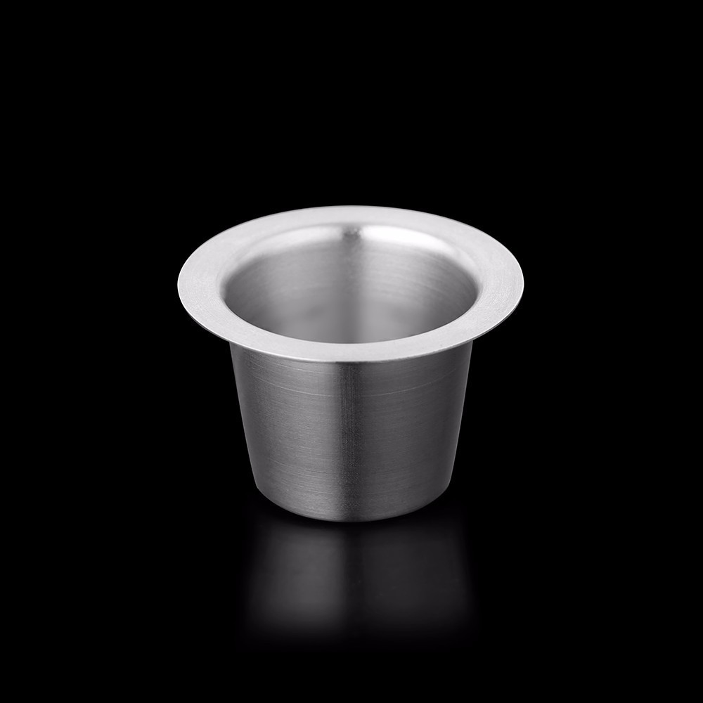24PCS Nespresso Coffee Pods Stainless Steel Refillable Capsulas Nesspreso Reusable Coffee Filter Cup New DIY Coffee Maker Tools in Coffee Filters from Home Garden