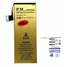 Suqy Battery for iPhone 5s Rechargeable Phone Bateria Accumu