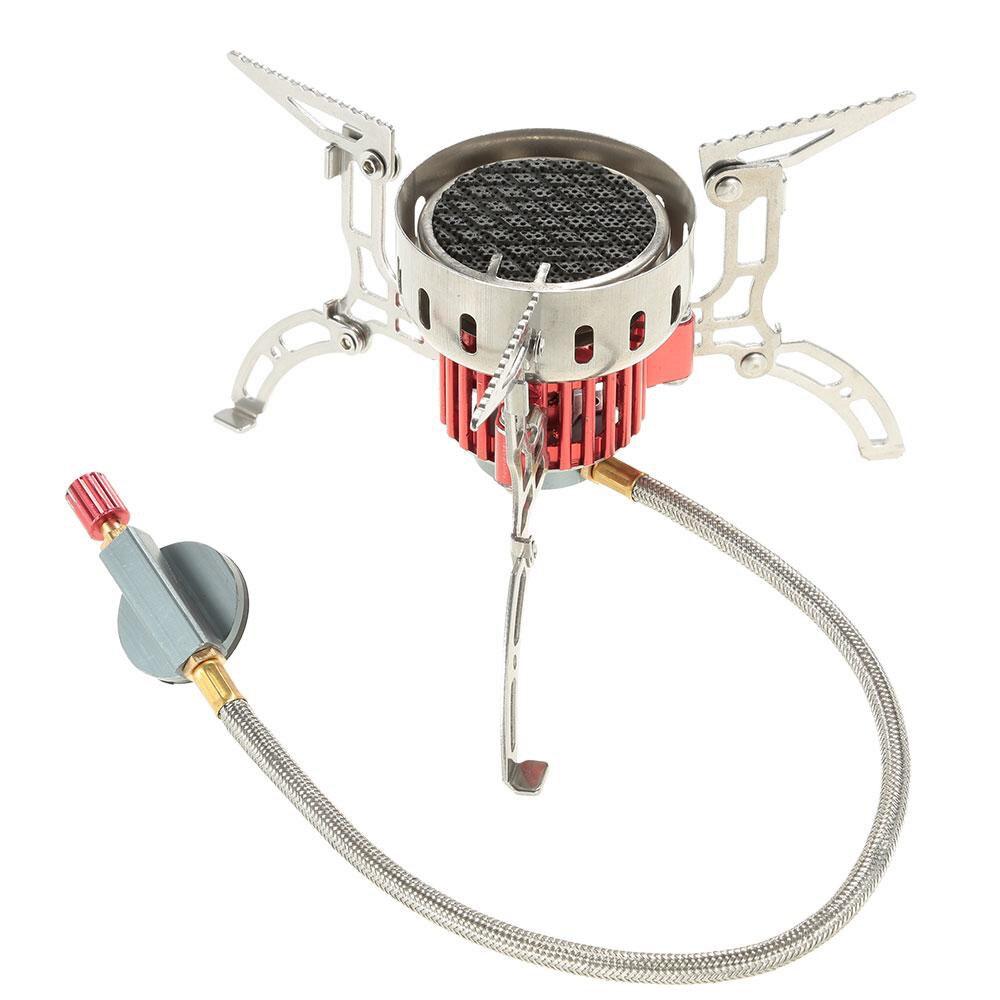 Инфракрасная Сверхлегкая мини плита, походная плита, Складная портативная ветрозащитная газовая плита для приготовления пищи, пикника