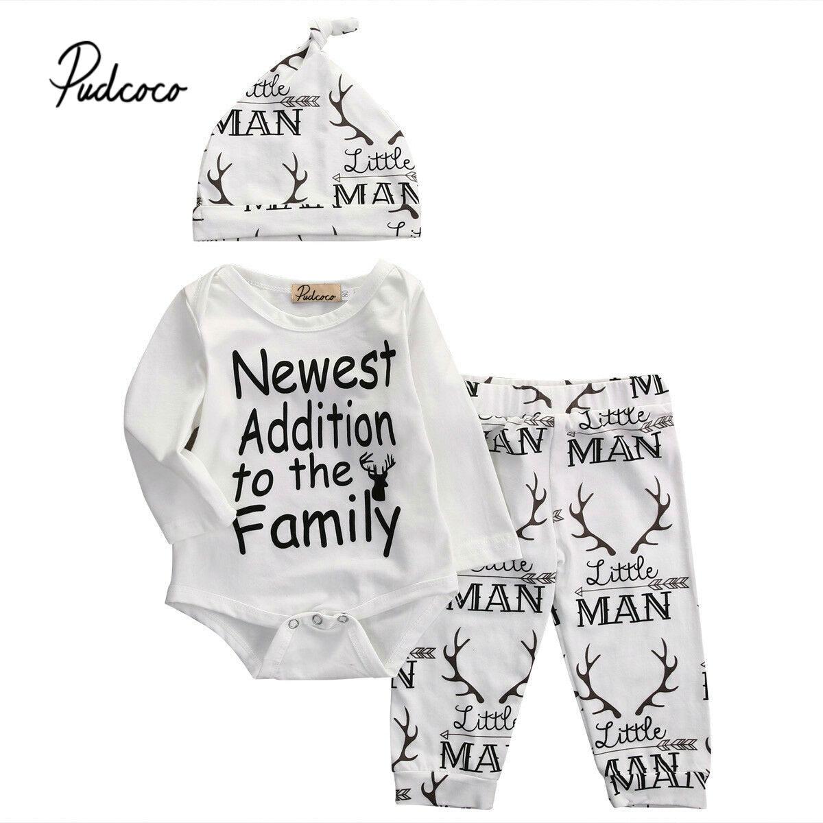 5a6b2290d Cheap Pudcoco 2019 bebé niñas ropa para niños recién nacido para traje  femenino conjunto de ropa