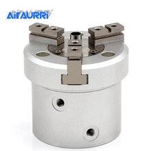 Pince à Air parallèle, Type cylindre à 3 doigts, MHSH3 16D/20/32/40/50/63/80