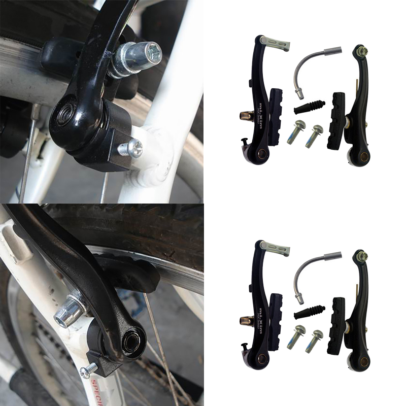 2PCS Bicycle Cyling Mountain Bike Sport Brake Holder Pads Shoes Y WD