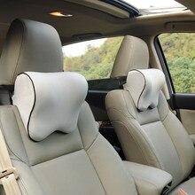 Headrest Car Neck Pillow Seat lumbar Pillow in auto back Hea