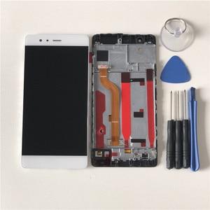 """Image 5 - 5.2 """"Originele Getest M & Sen Voor Huawei P9 Lcd scherm + Touch Panel Digitizer Met Frame Voor huawei P9 Display Vervanging"""