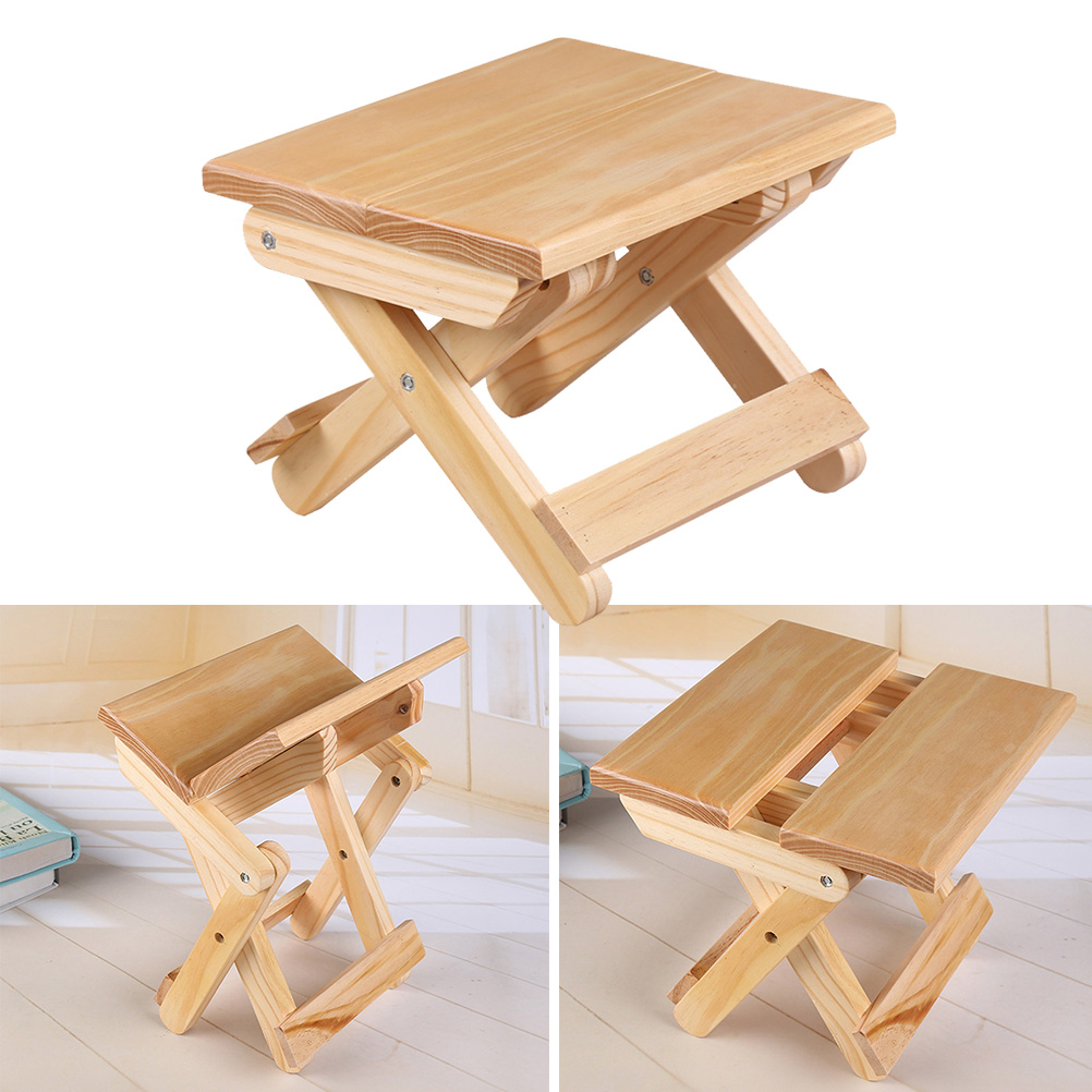 Wondrous Best Offer 1 Pc Lightweight Folding Stool Simple Fashion Squirreltailoven Fun Painted Chair Ideas Images Squirreltailovenorg