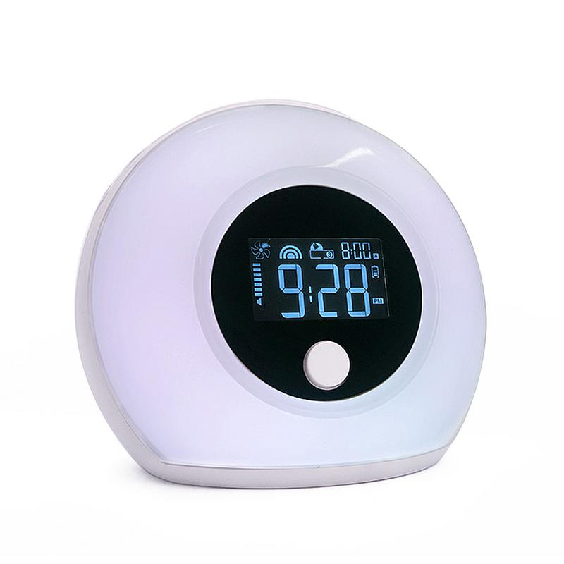 Bluetooth Speaker New Portable Wireless With Alarm Clock LED Light Audio Five Kinds Of Colorful Fluorescent Light ModeBluetooth Speaker New Portable Wireless With Alarm Clock LED Light Audio Five Kinds Of Colorful Fluorescent Light Mode