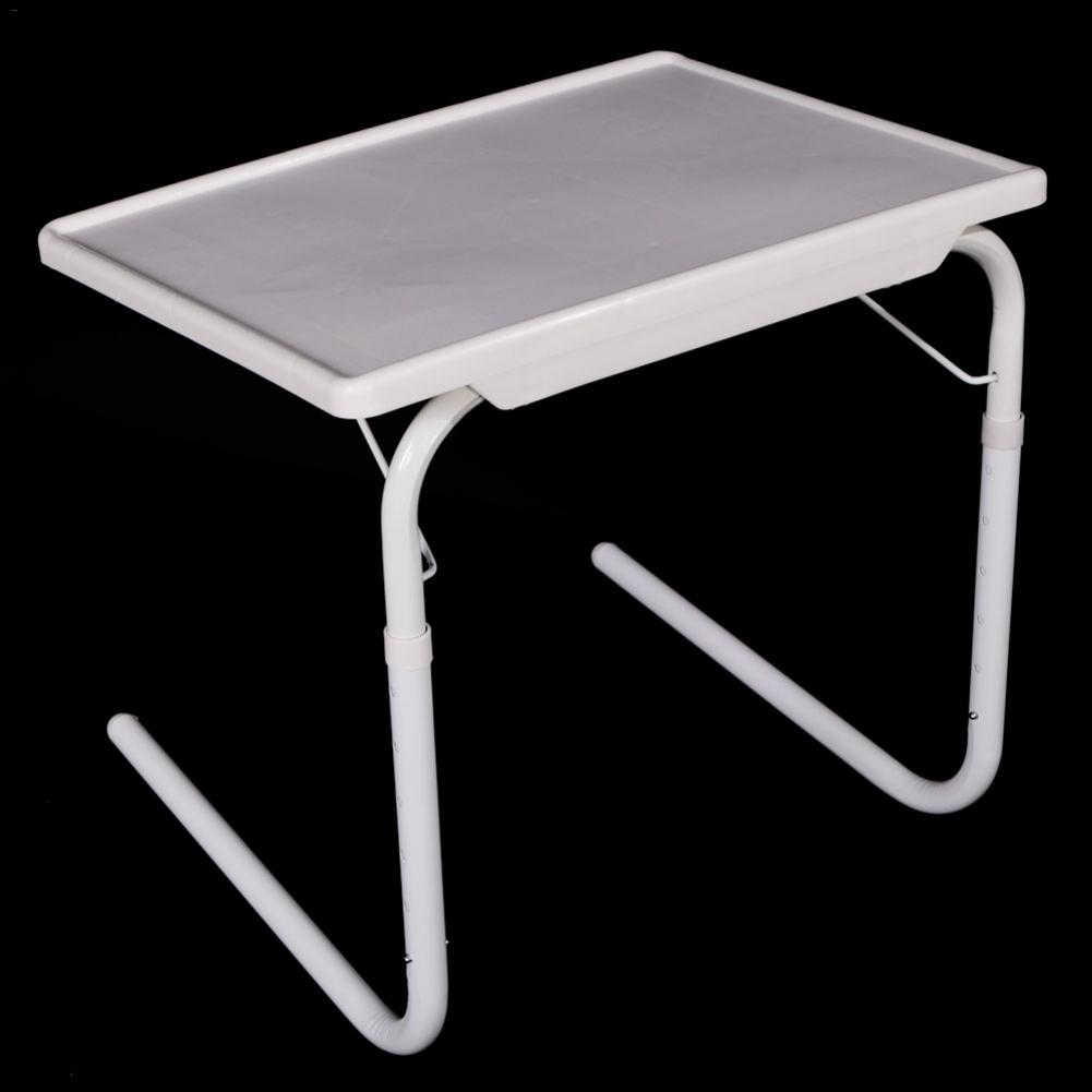 Practical Portable Home Use Foldable Assembled Bed Table White Study Dinner Table For Kids Home Accessories Kids Furniture Practical Portable Home Use Foldable Assembled Bed Table White Study Dinner Table For Kids Home Accessories Kids Furniture
