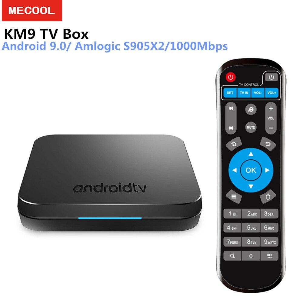 MECOOL KM9 Android 9.0 TV Kutusu Amlogic S905X2 DDR4 4 GB RAM 32 GB/64 GB ROM 2.4 GHz 5.0 GHz WiFi BT4.0 1000 Mbps Destek 4 K H.265MECOOL KM9 Android 9.0 TV Kutusu Amlogic S905X2 DDR4 4 GB RAM 32 GB/64 GB ROM 2.4 GHz 5.0 GHz WiFi BT4.0 1000 Mbps Destek 4 K H.265