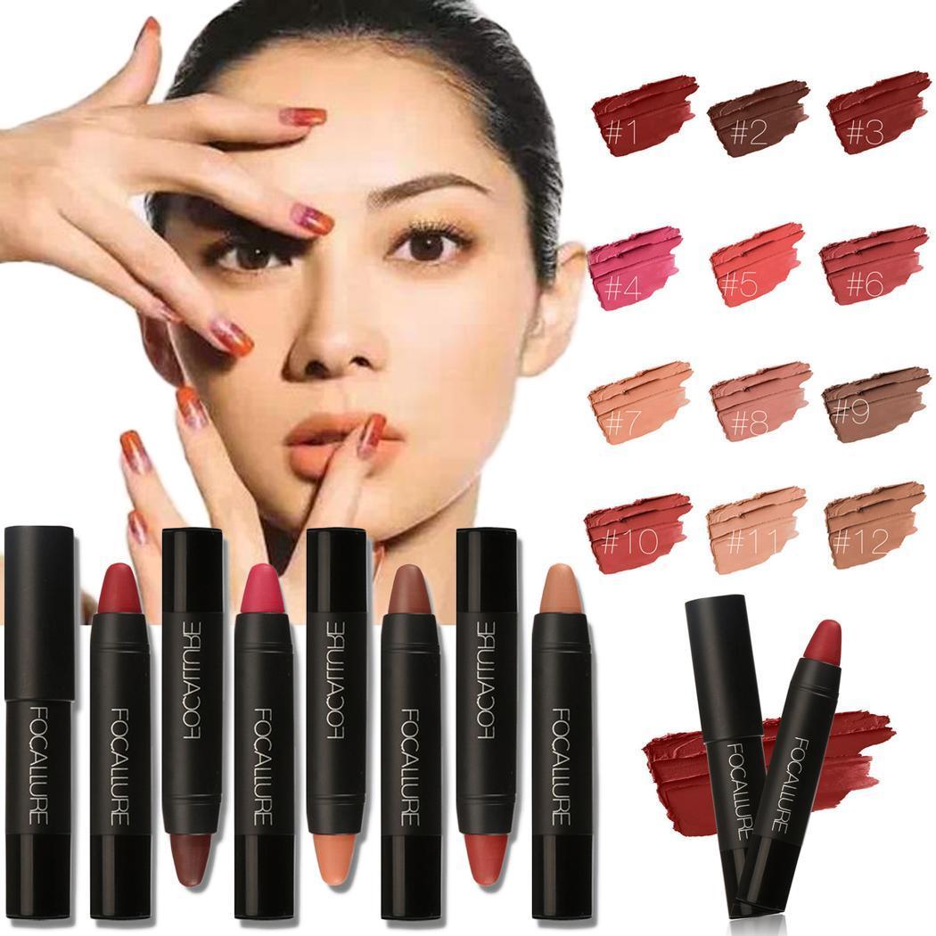 Lipstick Friendly New Waterproof Lip Pencil Professional Makeup Foundation Soft Sexy Red Brown Pigments Makeup Matte Lipsticks Beauty Lips Beauty Essentials