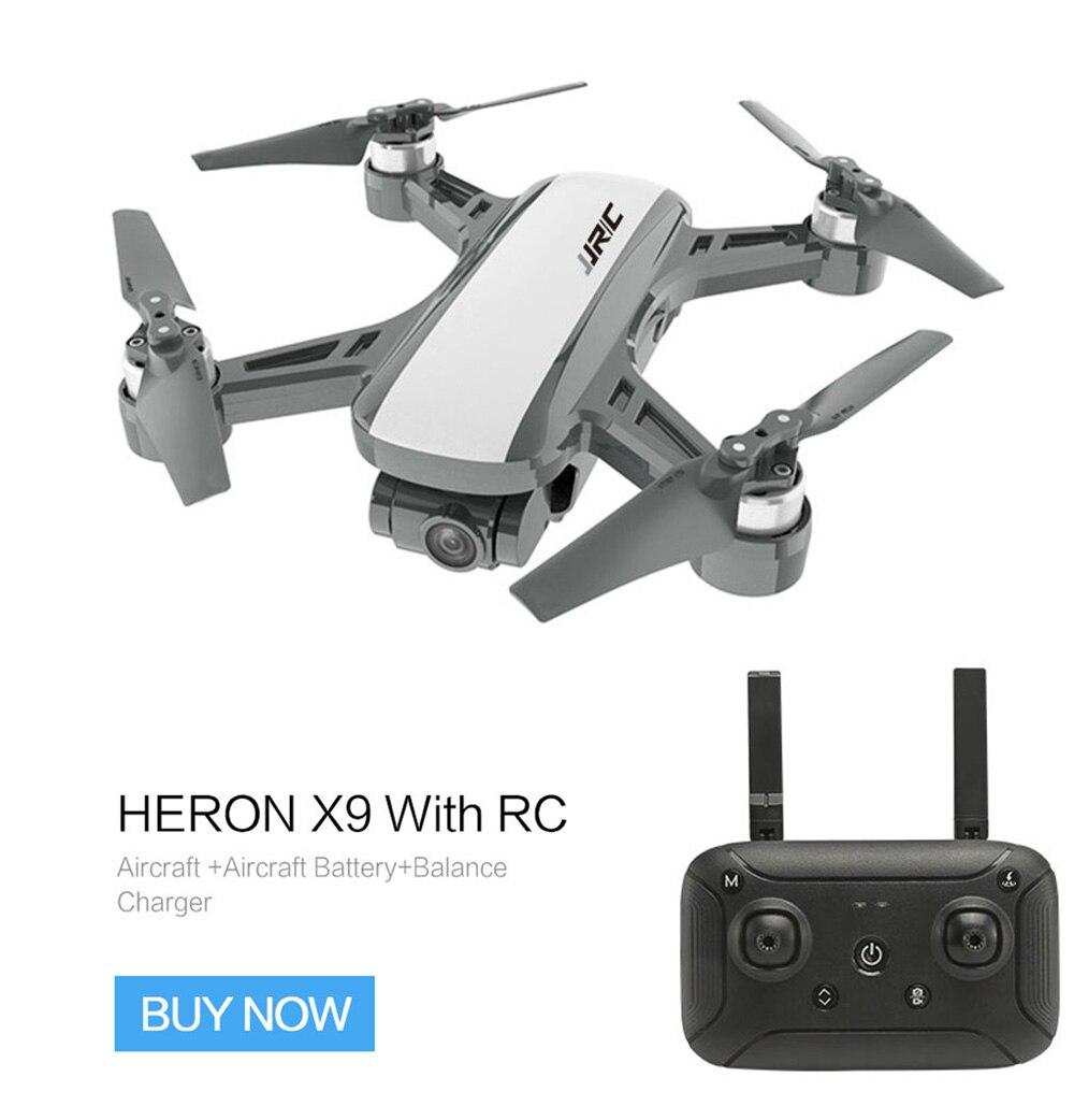JJRC X9 5G 1080 P WiFi FPV RC Drone GPS positionnement de débit optique maintien d'altitude suivre le robinet pour voler quadrirotor