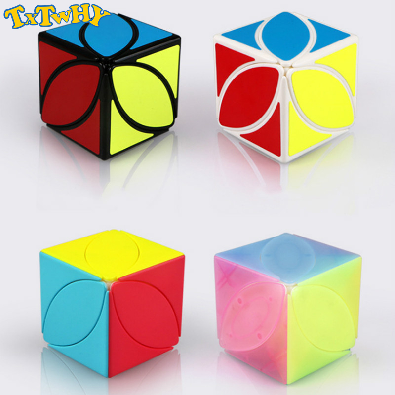 MF3RS Cube QiYi Ivy Cube The First Twist Cubes Of Leaf Line Puzzle Cube Magic Cube Educational Toys For Boys