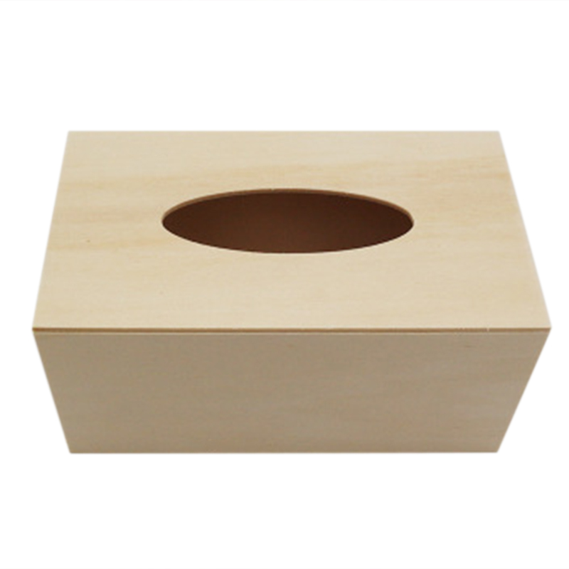 Us 4 98 45 Off Solid Wooden Tissue Box Napkin Holder Case Diy Paper Organizer Household Hotel Tissue Boxes In Tissue Boxes From Home Garden On