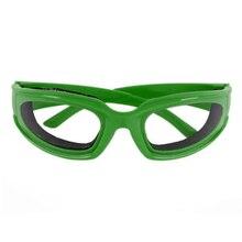 Великобритания 4 цвета лук очки слезы бесплатно протектор Кухня Лук резка стекла