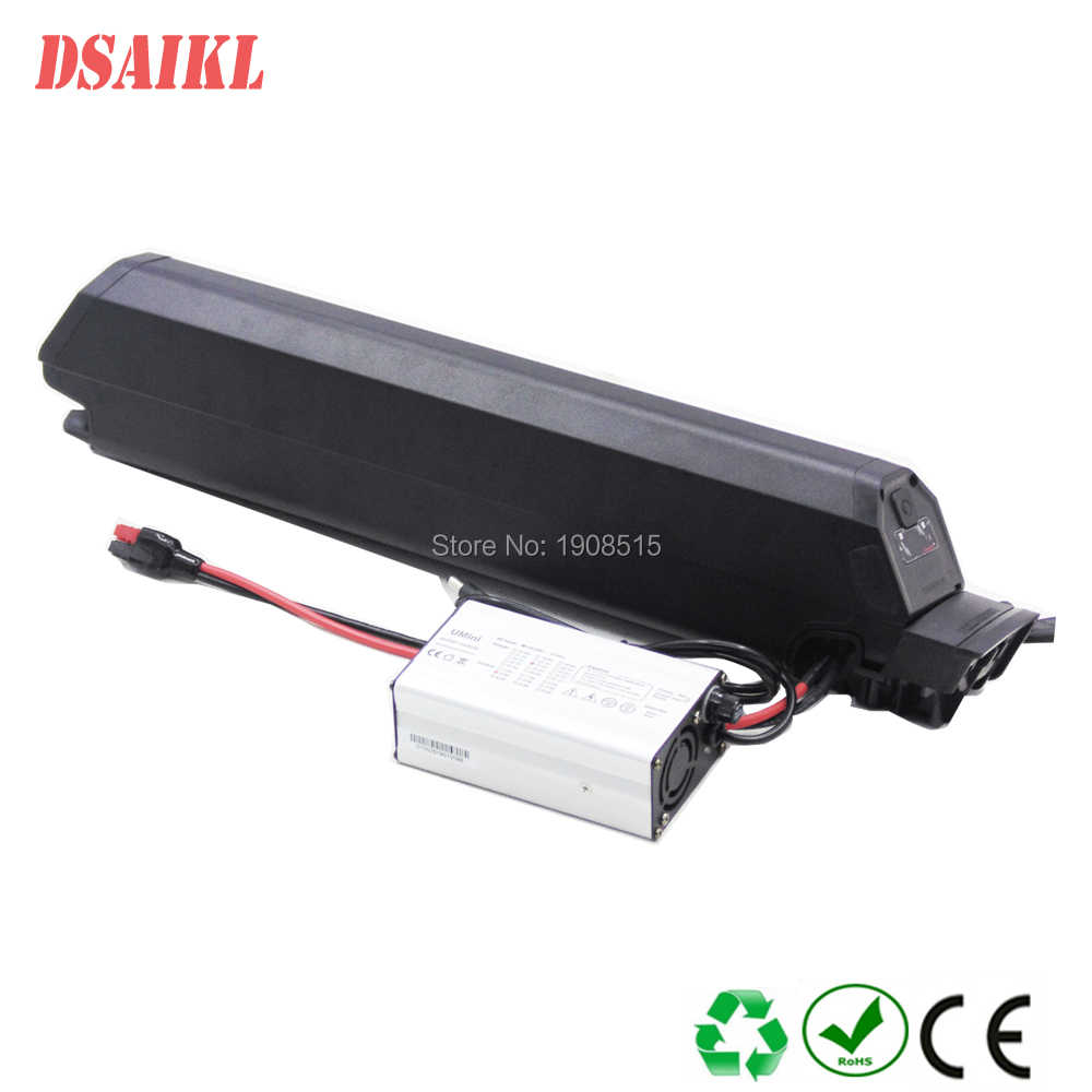 Electric bicycle hidden battery pack 750W 1000W 48V 14.5Ah 17.5Ah Reention ID-1-plus ebike battery pack with 54.6V 3A charger