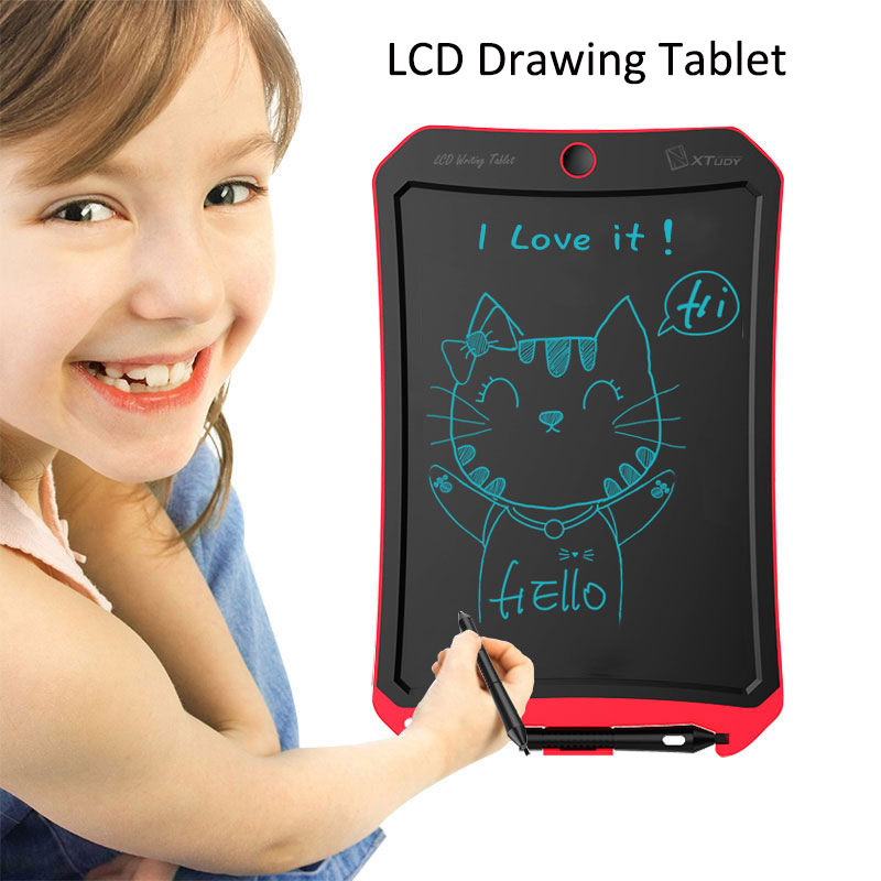 Image 2 - Digital Drawing Tablet LCD Kids Graphics Writing Paint Board Electronics Children Gift Study Pad Home Message Board With Battery-in Digital Tablets from Computer & Office