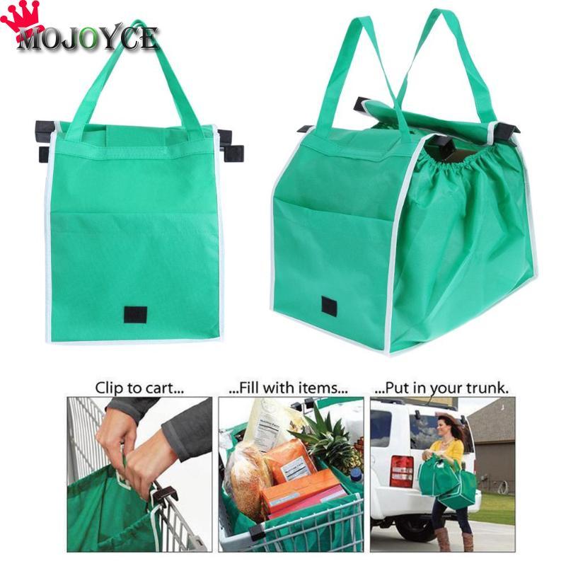 1 Pc Reusable Große Trolley Lebensmittel Tasche Tote Handtaschen Supermarkt Umweltfreundliche Shopping Lagerung Taschen Schwere Taschen Für Frauen Jade Weiß