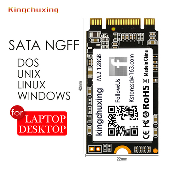 Kingchuxing SSD M.2 2242 NGFF M2 512GB Internal Hard Drive Disk for Laptop Notebook Ultrabook image