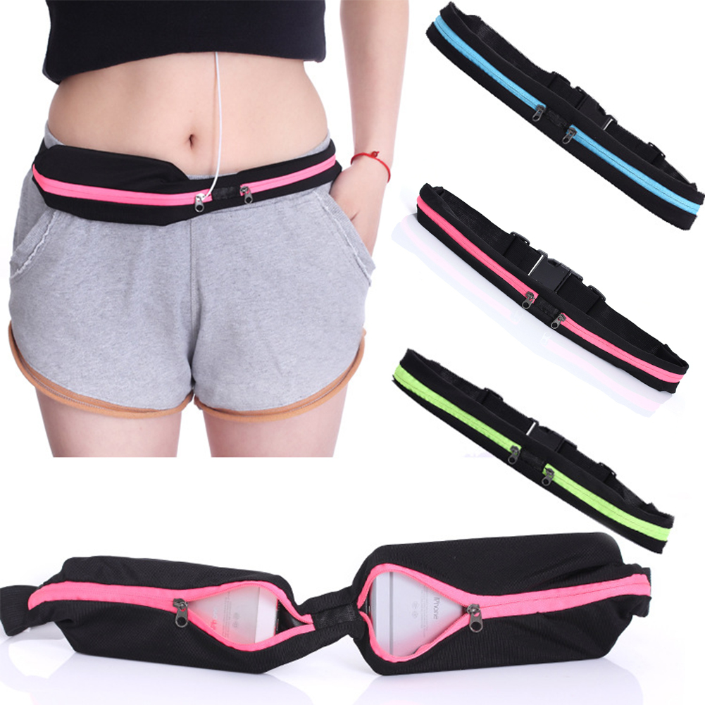 Favolook Holder Running Belt Outdoor Belly Fitness Waist Gym Jogging Mobile Phone