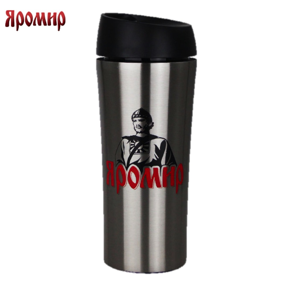 Vacuum Flasks & Thermoses Yaromir YAR-2400M thermomug thermos for tea Cup stainless steel water