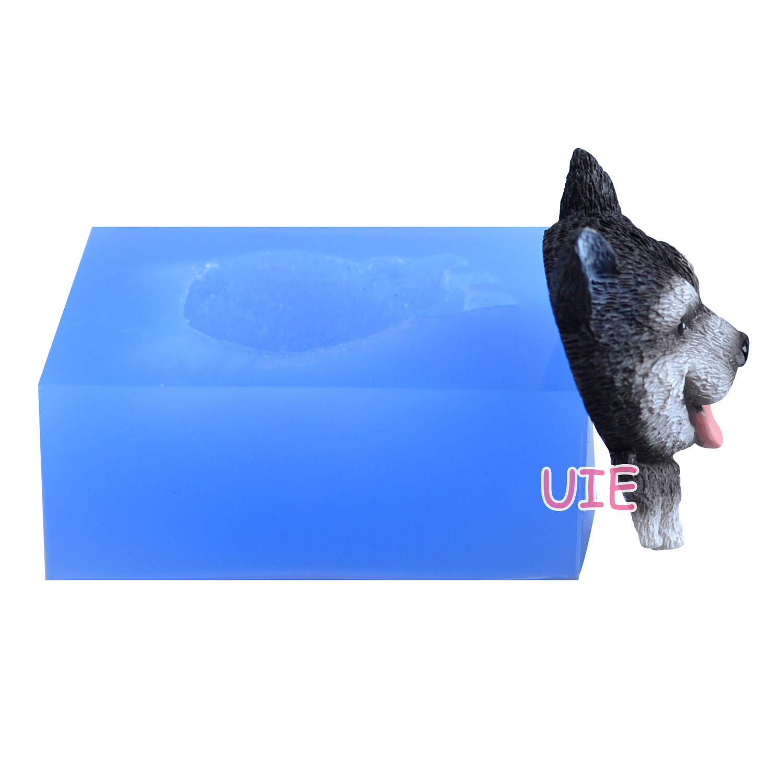 LABRADOR RETRIEVER  ~ BLACK ~ RESIN CUPCAKE TRINKET BOX
