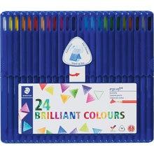 Карандаш цветной Ergosoft трехгранный, набор 24 цвета