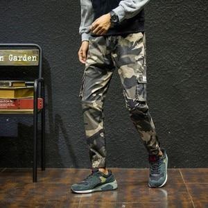 Image 4 - 7XL ผู้ชาย 2019 ฤดูใบไม้ผลิฤดูใบไม้ร่วงฝ้ายกระเป๋ากางเกง Cargo กางเกงผู้ชายกองทัพทหารยุทธวิธีขนแกะกางเกงกางเกงผู้ชาย