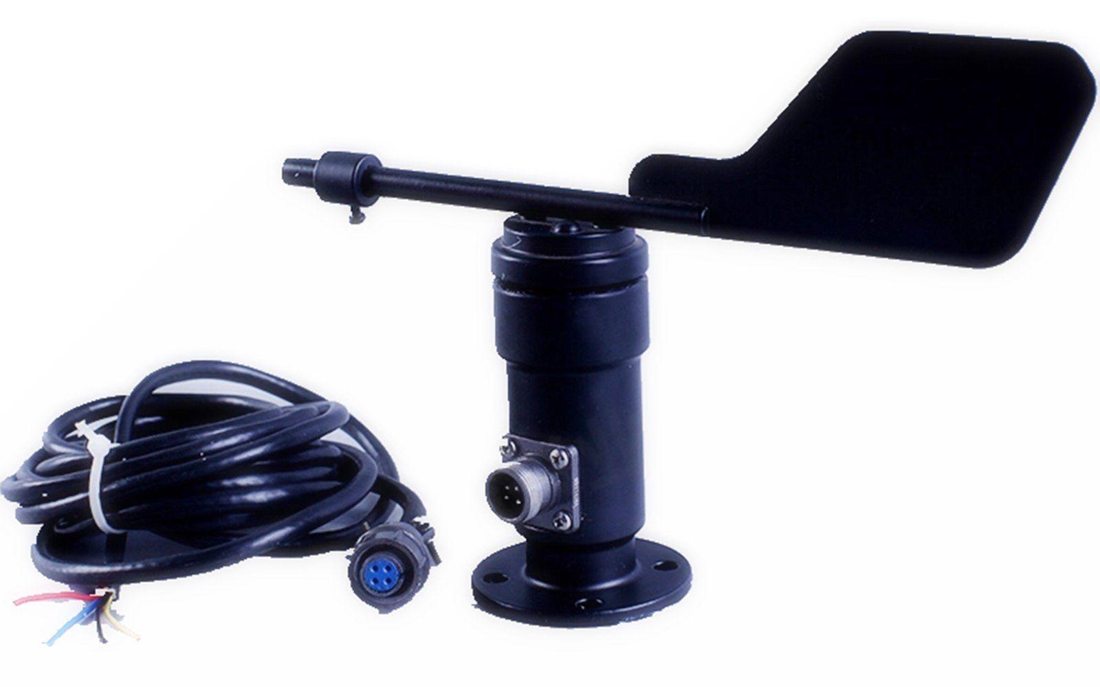Input DC 12 24V Output 4 20mA 0 5V RS485 Aluminum Alloyed Wind Direction Sensor Transducer